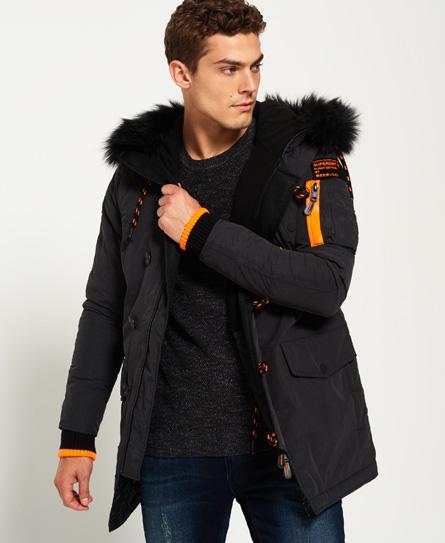Superdry veste cuir homme
